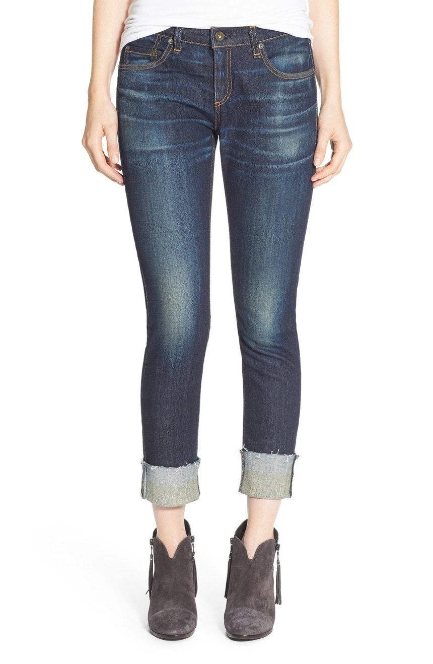 rag & bone/JEAN  'The Dre' Slim Fit Boyfriend Jeans (Yesler). Nordstrom. Was: $275 Now: $183.