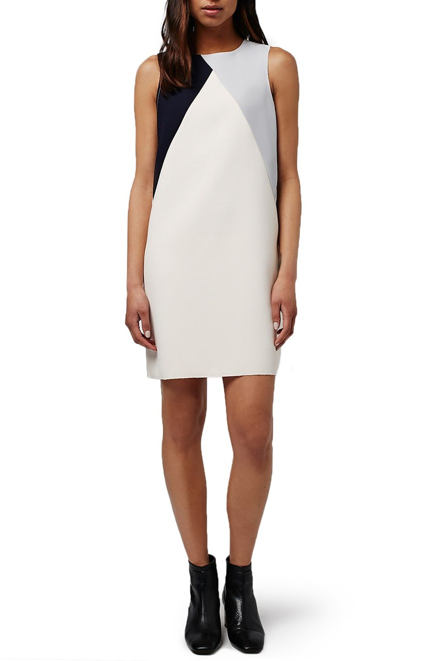 Topshop  Colorblock Shift Dress. Nordstrom. Now: $75. Will be: $115.