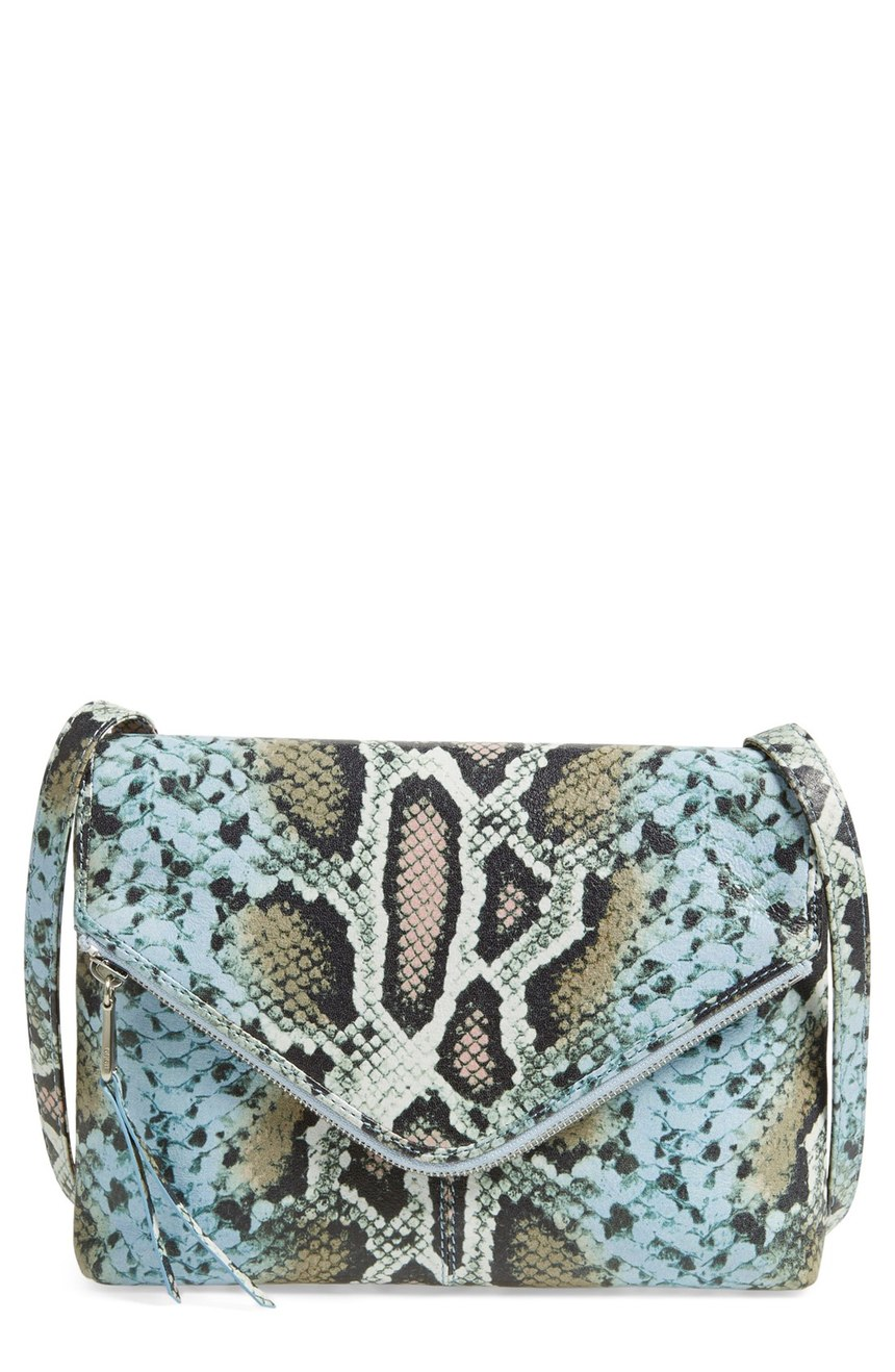 Hobo  'Adelle' Print Leather Crossbody Bag. Nordstrom. Now: $118. Will be: $178.