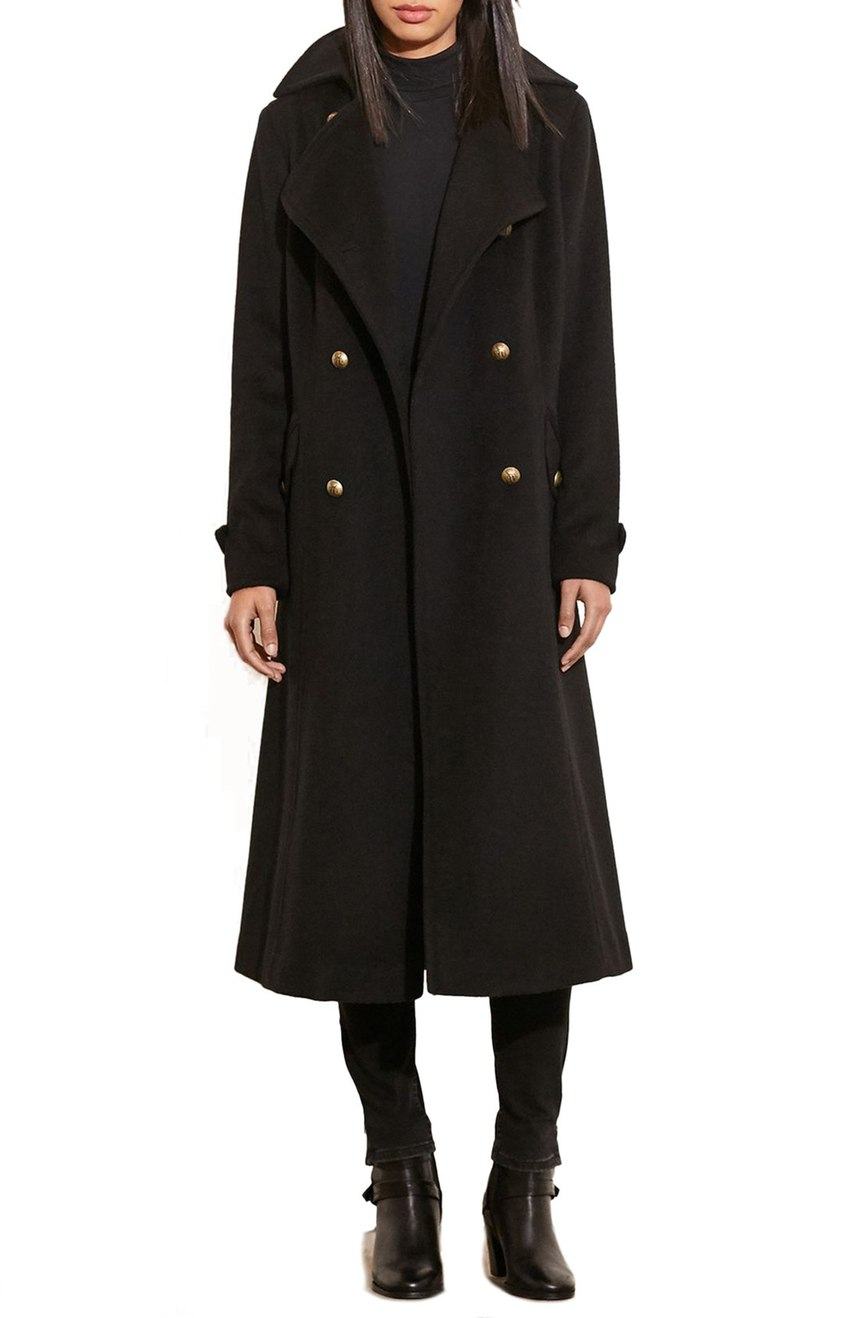 Lauren Ralph Lauren   Wool Blend Maxi Coat. Nordstrom. Now: $239 Will be: $360.