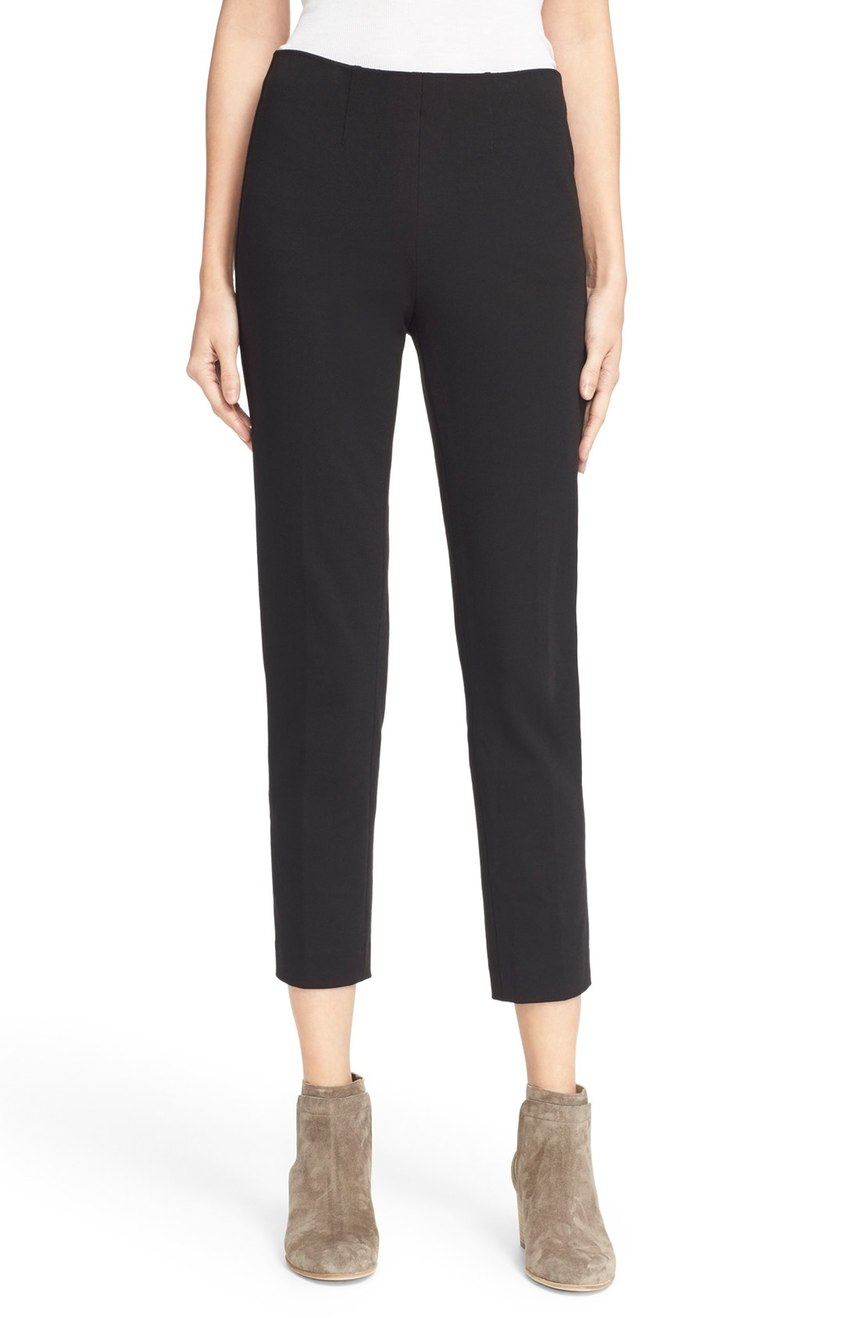 Vince  Pull-On Slim Fit Crop Trousers. Nordstrom. Now: $149 Will be: $225.