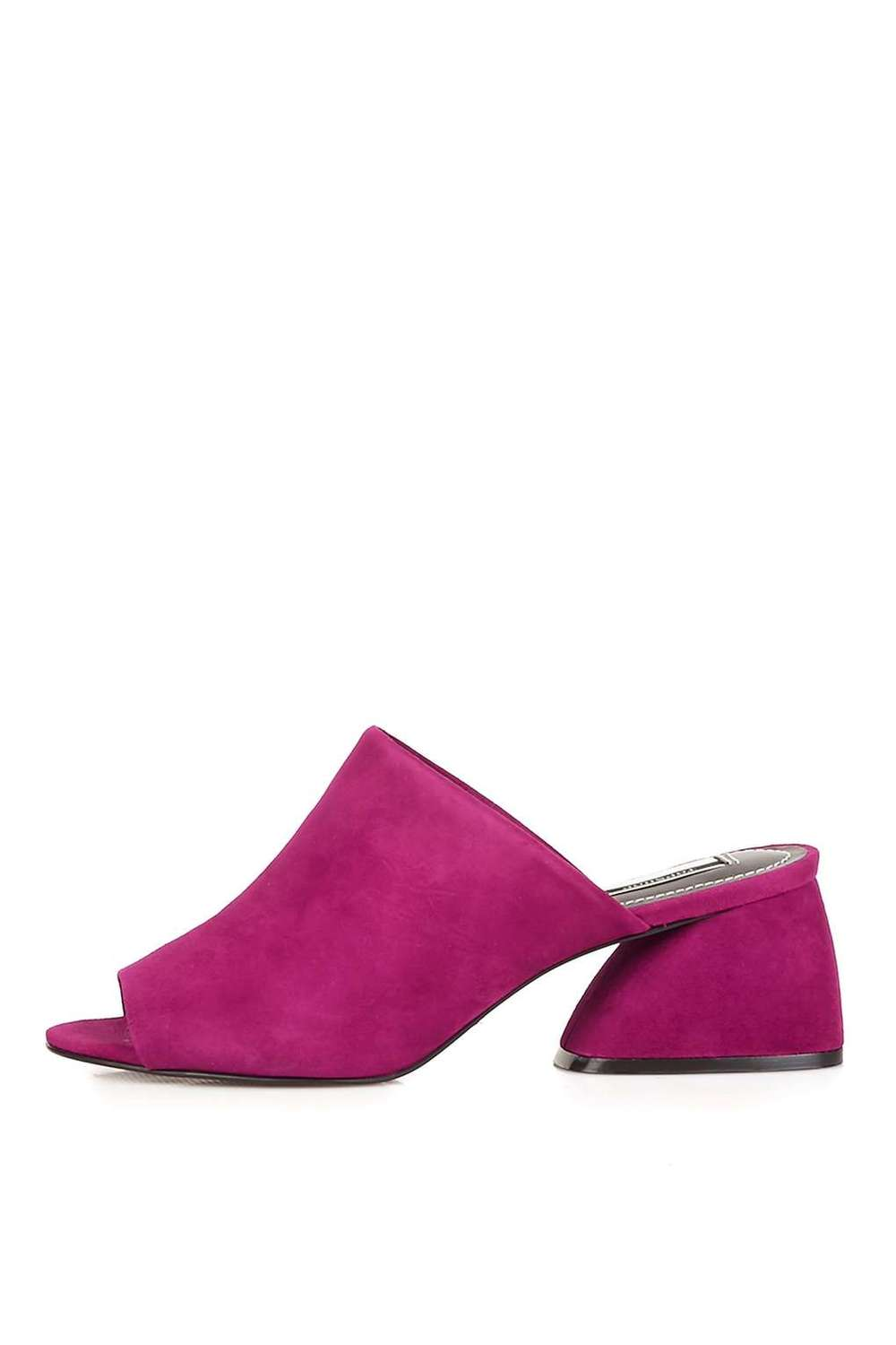 PERU Limited Edition Low Mules. Multiple colors available. Topshop. $150.