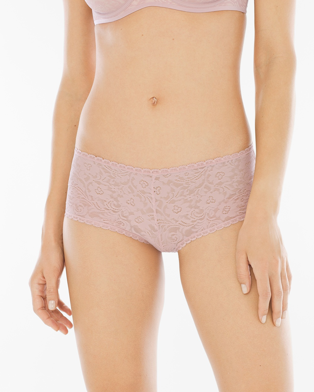 Enticing Allover Lace Boyshort. Soma. Available in multiple colors. $15 or 5 for $39.