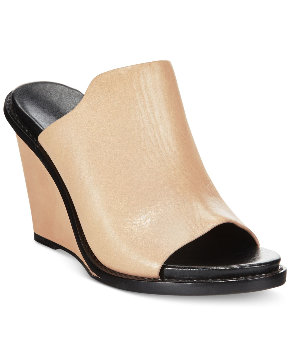French Connection Pandra Leather Mule. Available in two colors. Bluefly. Was: $150 Now: $89.