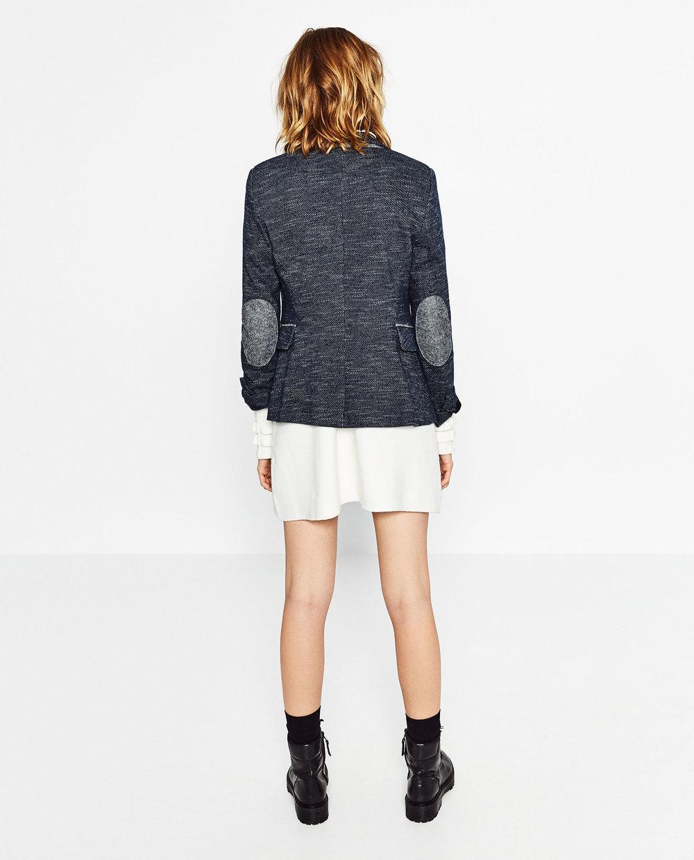 Blazer With Elbow Patches. Zara. $99.