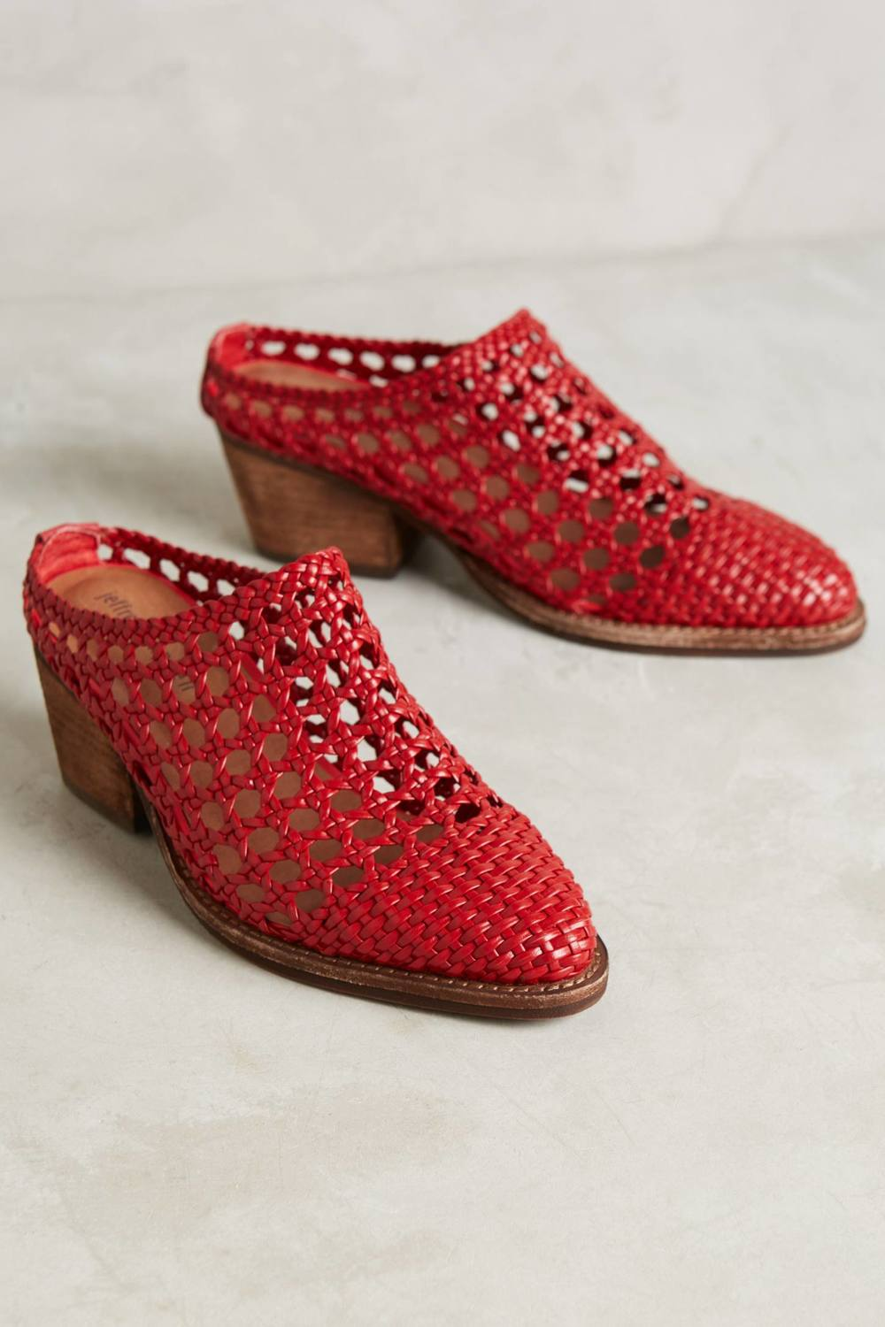 Jeffrey Campbell Armadillo Mules. Available in multiple colors. Anthropologie. $188.