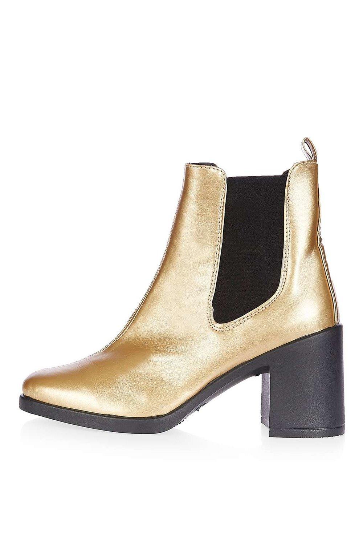 Barnaby Heeled Boot. Topshop. $65.
