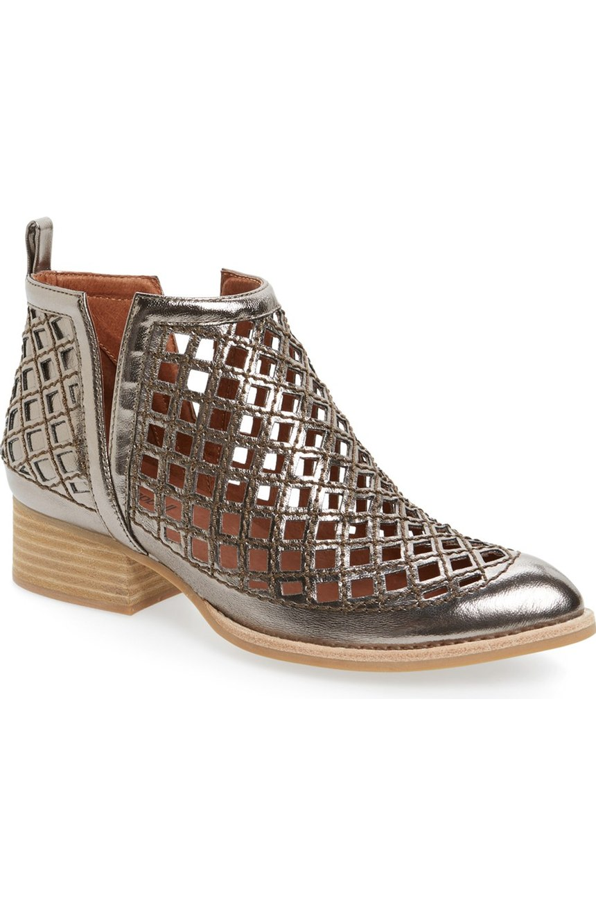 Jeffrey Campbell 'Taggart' Cutout Bootie. Available in multiple colors. Nordstrom. $179.