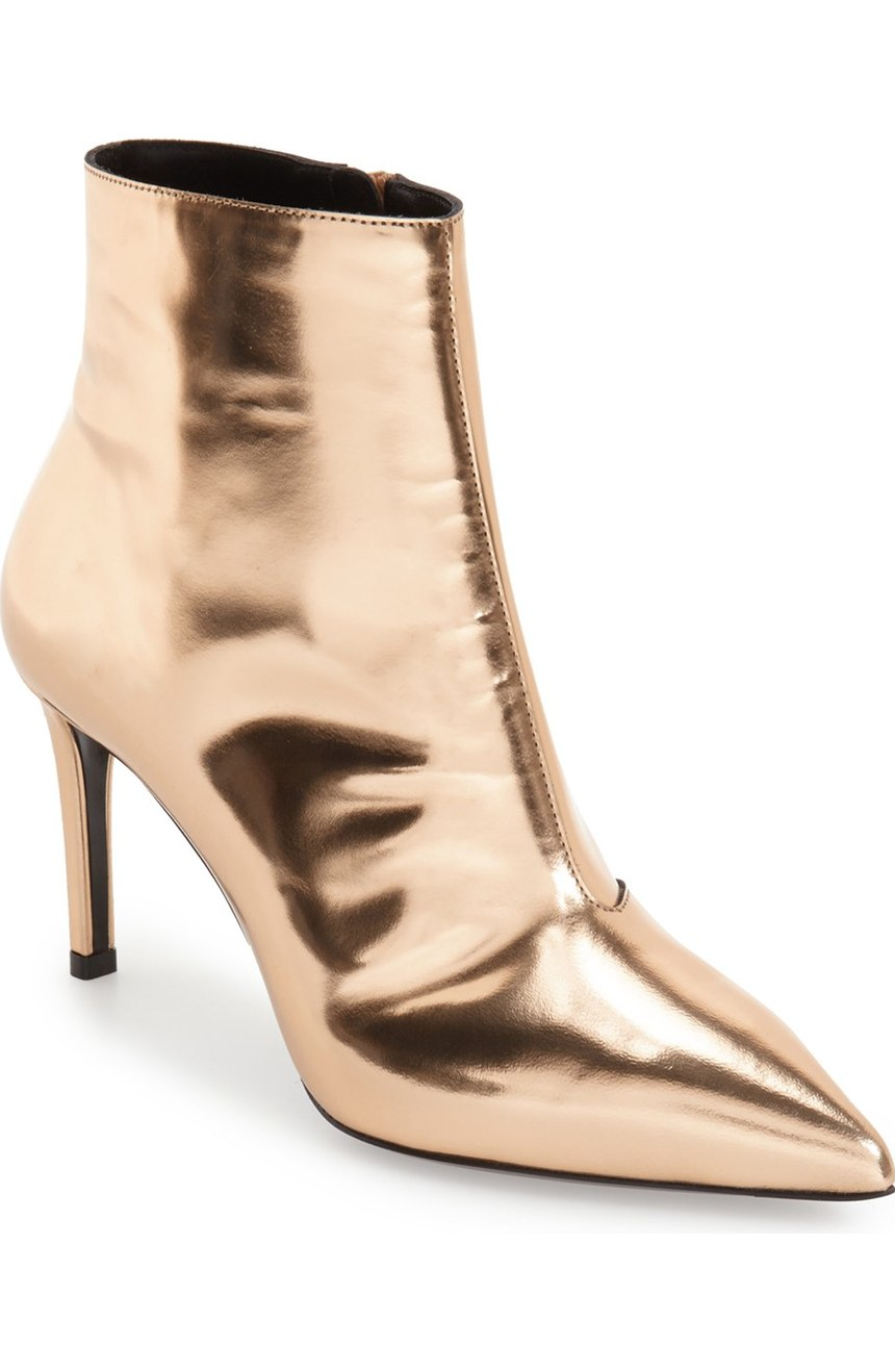 Balenciaga 'All Time Mirror Effect' Pointy Toe Bootie. Nordstrom. $755.