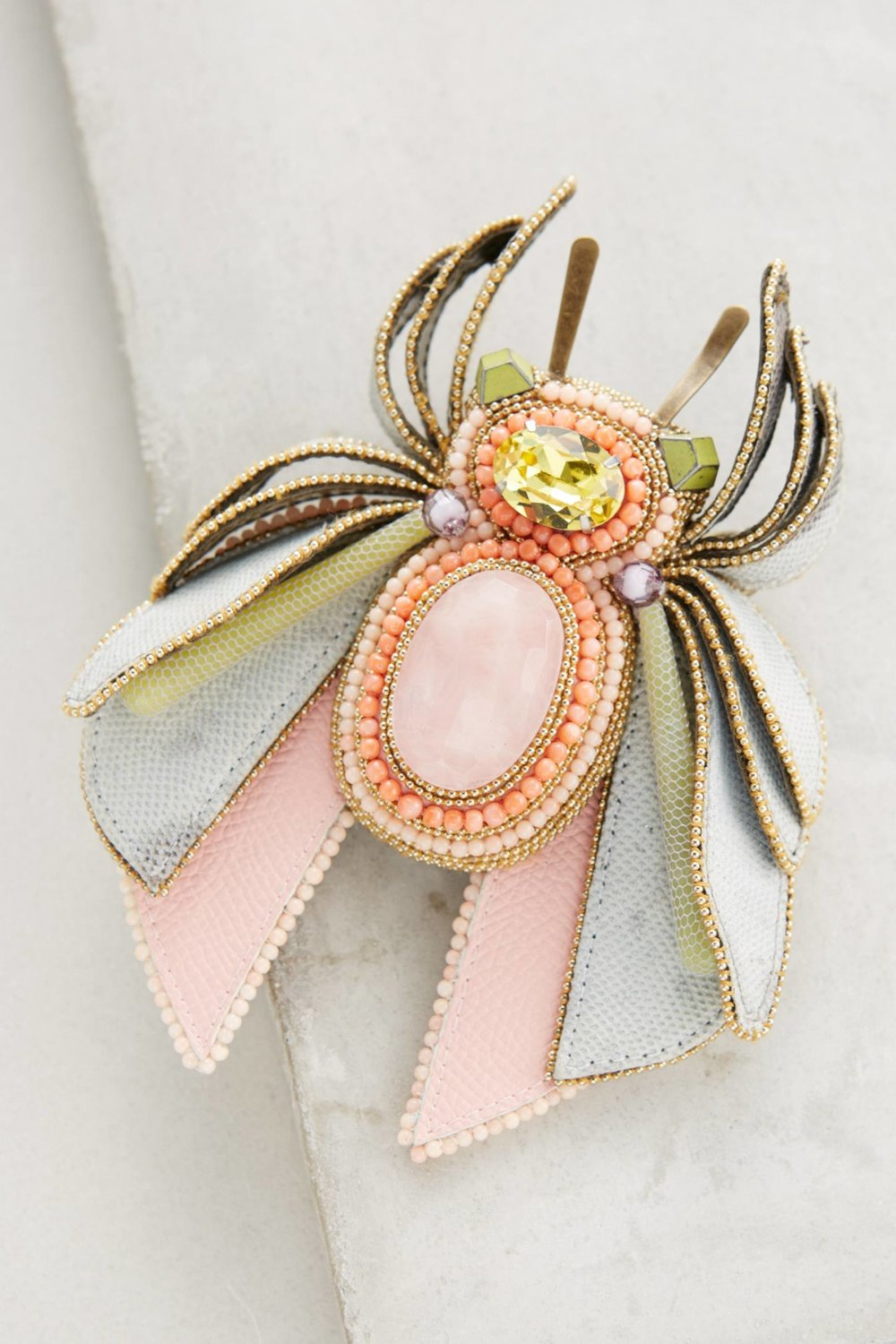 Beatie Bug Brooch. Available in multiple colors. Anthropologie. $728.