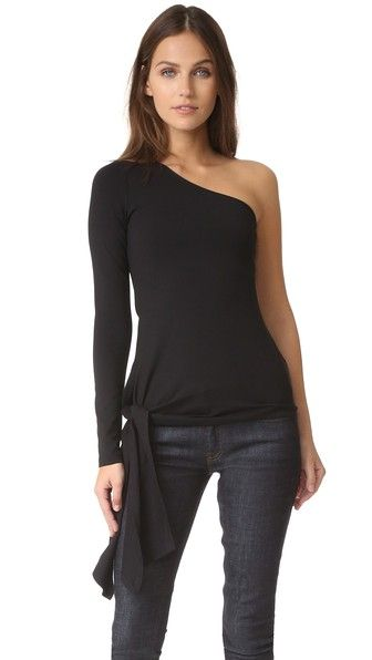 Susana Monaco  One Shoulder Top. Shopbop. $134.