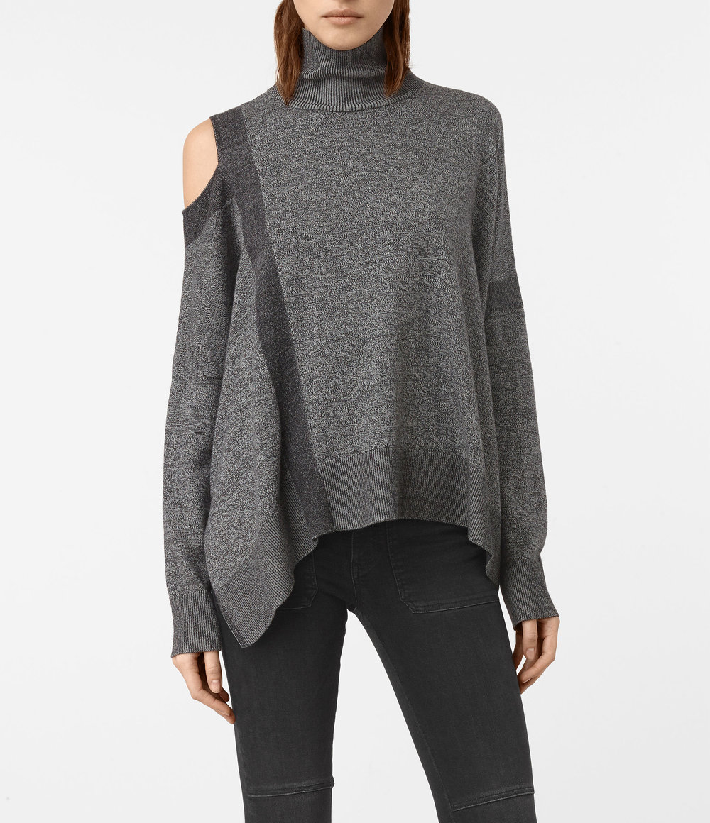 CECILY TWIST JUMPER. All Saints. $195.