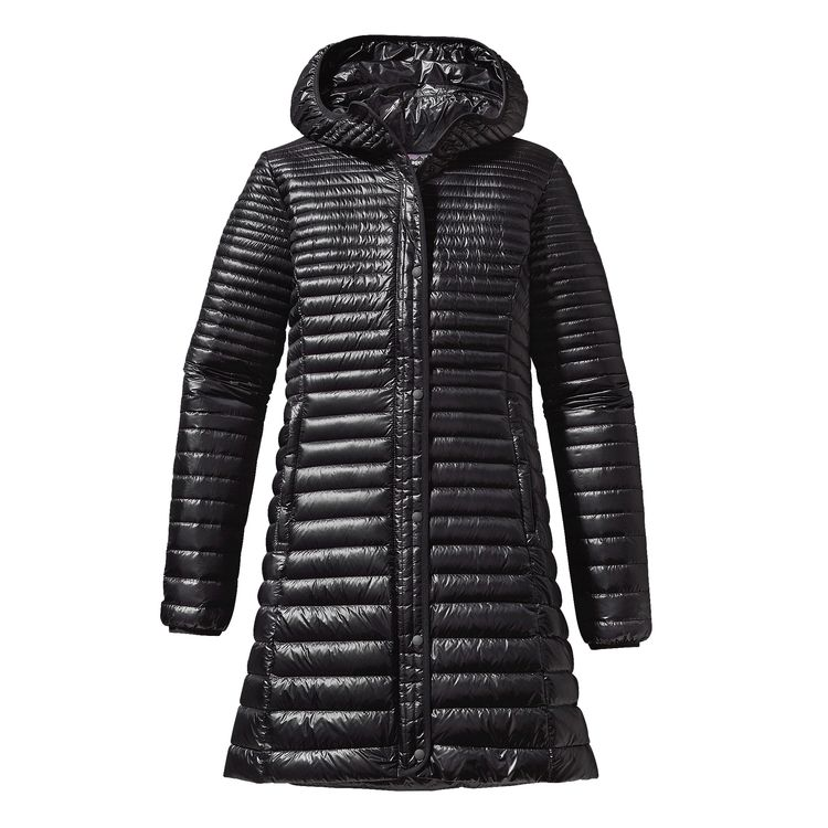 Patagonia Lightweight Fiona Coat. Available in three colors. Patagonia. $349. Patagonia has an impressive corporate social responsibility policy & lifetime guarantee on products.