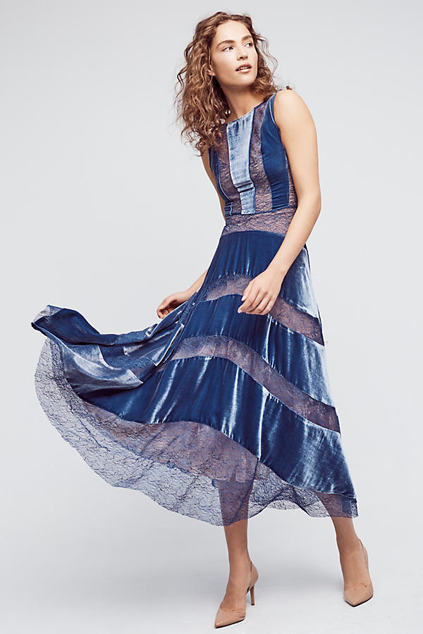 Velvet Frost Dress. Anthropologie. $498.
