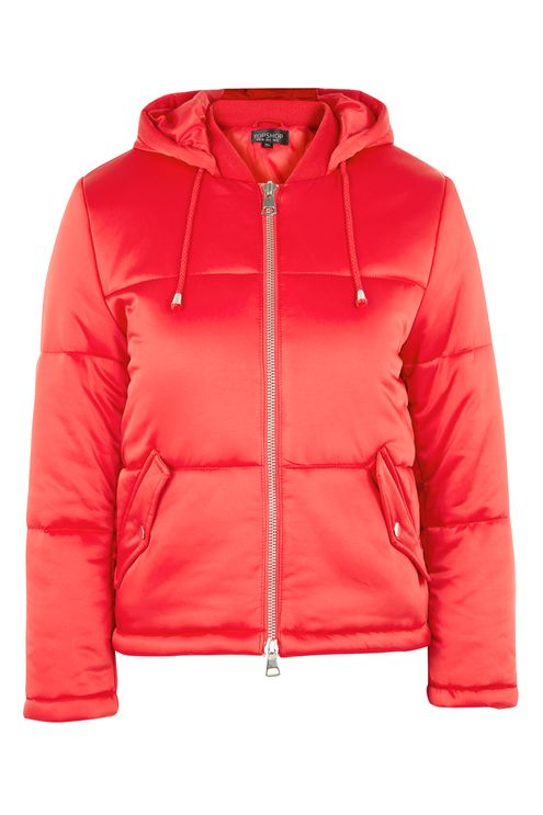 Quilted Puffer Jacket. Available in tall, petite and regular. Topshop. Was: $130 Now: $80.