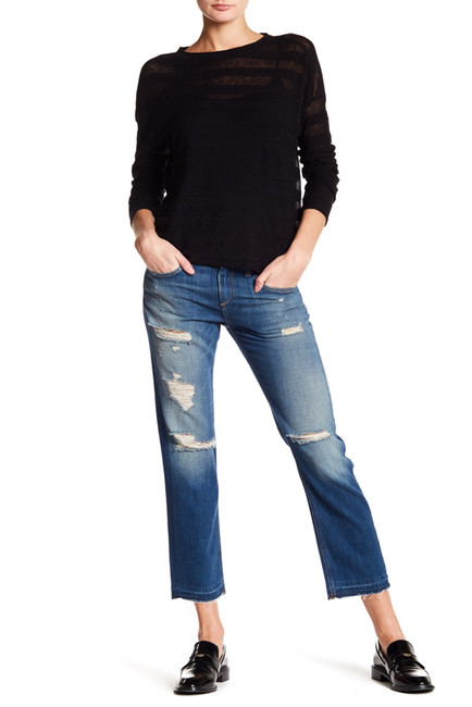 Rag & Bone Distressed Boyfriend Jeans. Nordstrom Rack. Was: :250. Now: $109.