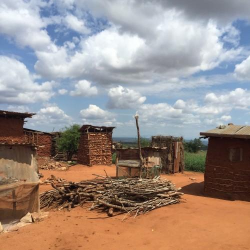 A small Kenyan mining village.
