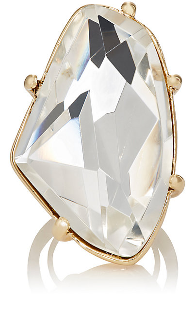 KENNETH JAY LANE White Crystal Cocktail Ring. Barneys Warehouse. Was: $130. Now: $79. Plus an additional 30% off!