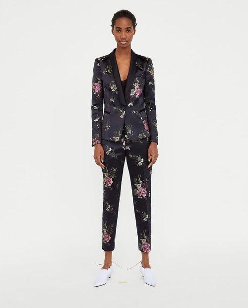 JACQUARD BLAZER. Zara. Was: $99 Now: $39.