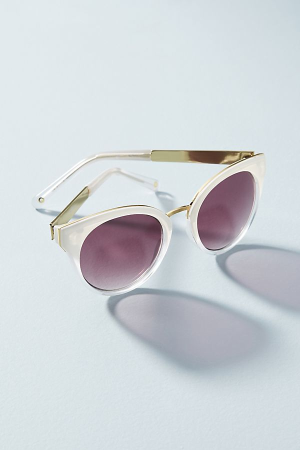 Elsie Sunglasses. Available in two colors. Anthro. $38.