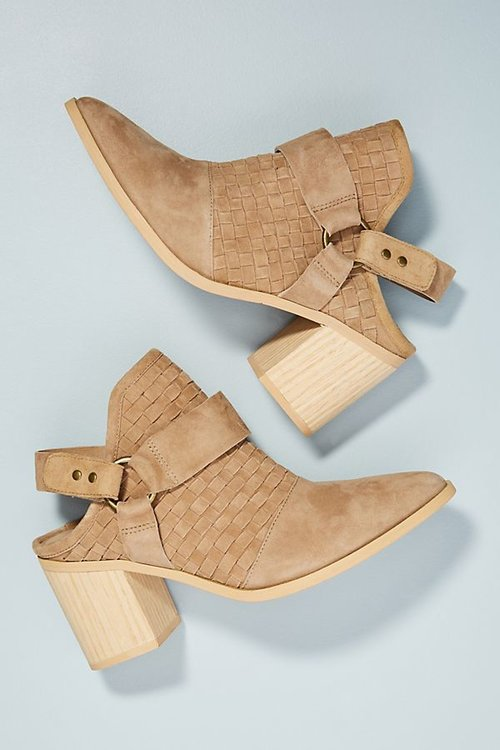 Farylrobin Western Booties. Anthro. $178.