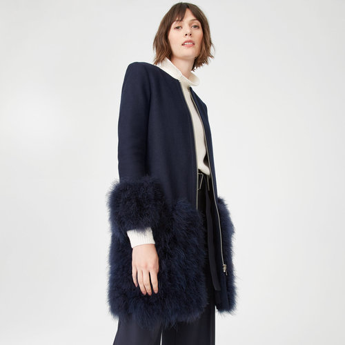 Maxxeen Coat. Club Monaco. Was: $499. Now: $249.