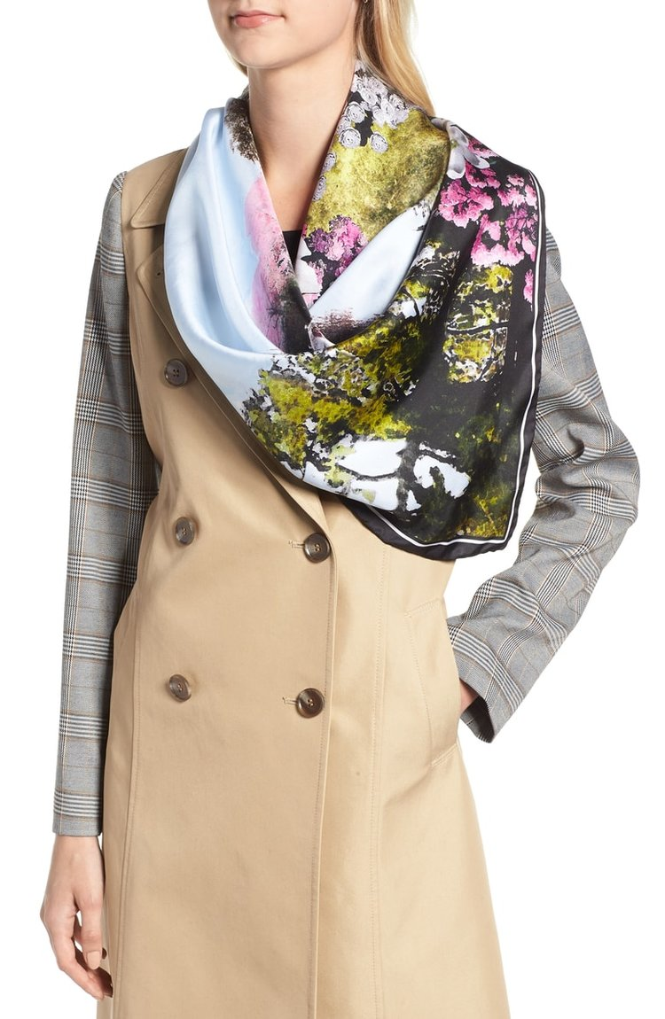 Ted Baker London Windermere Square Scarf. Nordstrom. $125.