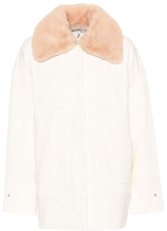 Ganni Ridgewood corduroy jacket. My Theresa. $360.