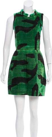 Oscar de la Renta Patterned Corduroy Dress. The Real Real. Was: $425. Now: $297.