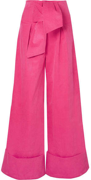 PAPER London - Twin Stretch-cotton Corduroy Wide-leg Pants . Net-a-Porter. $330.