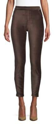Hue High-Rise Corduroy Cropped Leggings. Saks Off 5th. Was: $44. Now: $24.