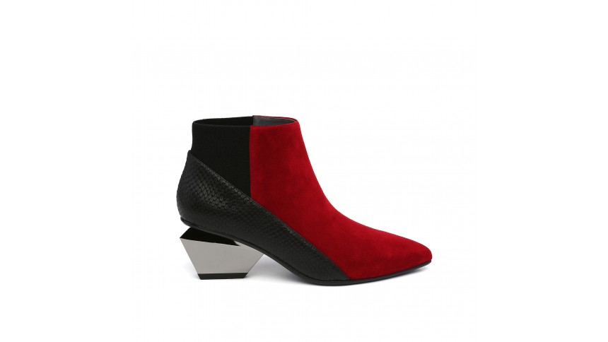 Jacky Metal Mid Red. Available in multiple colors. United Nude. Was: $275. Now: $205.