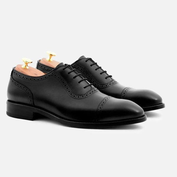 DURANT OXFORD BROGUES - CALFSKIN LEATHER. Available in four colors. Beckett Simonon. Was: $300. Now: $199.