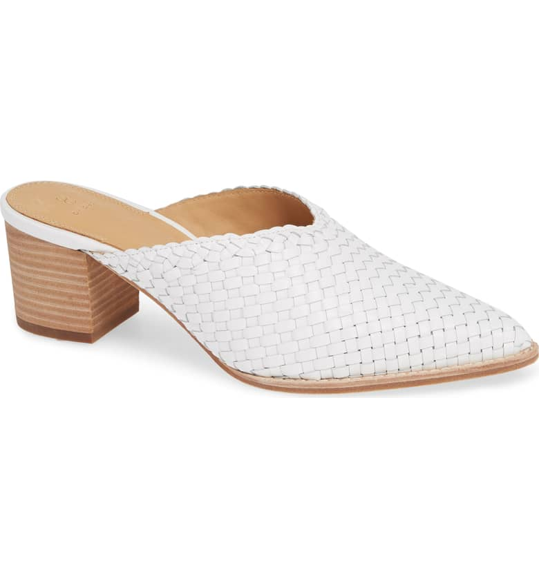 Bill Blass Taj Woven Mule. Nordstrom. Was: $228. Now: $91.