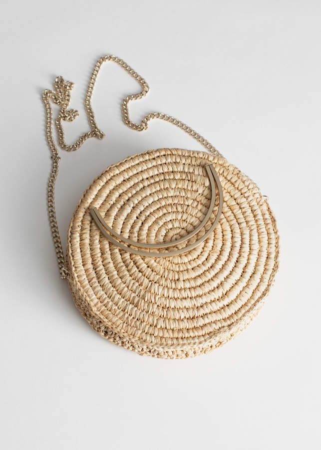 And other stories Woven Straw Crossbody Bag. And other stories. $59.