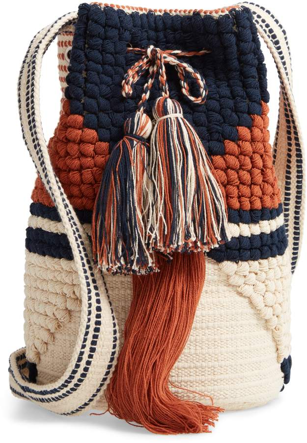 Sole Society Halay Woven Bucket Bag. Nordstrom. $59.