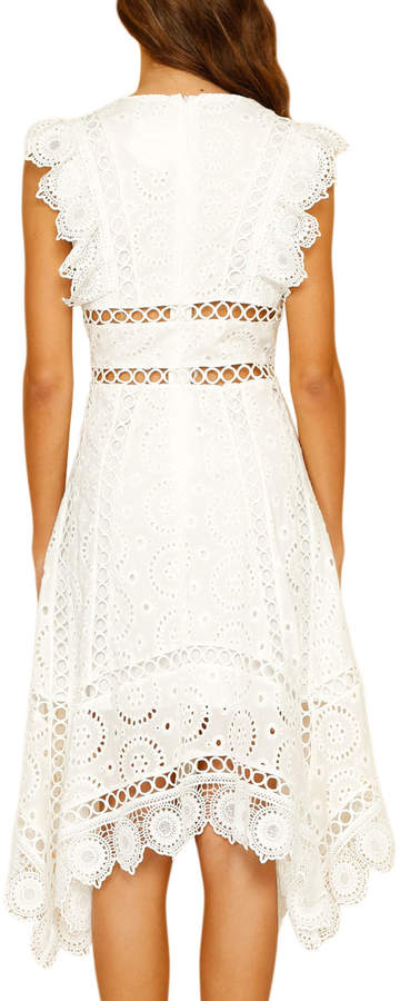 Stylekeepers Euphoria Cutout Crochet A-Line Dress. Last Call Neiman Marcus. Was: $129. No: $96.