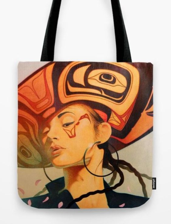 "The ""Seattle Canvas"" Tote bag. Available in three different sizes: Small 13x13 - $25, Medium 16x16 - $30 and Large 18x18 - $35 + Shipping and handling."