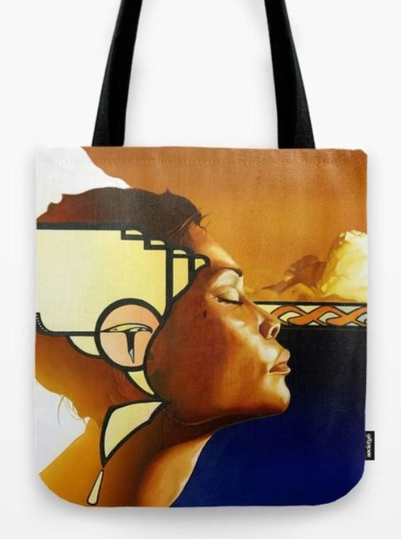 NAKEESA TOTE but can be styled with any of the bags!
