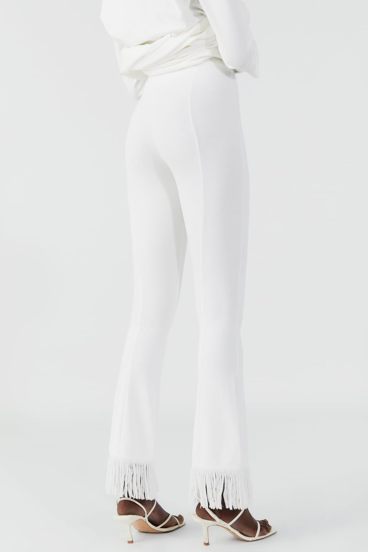 Fringed Pants $89.90 Zara
