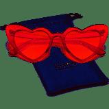 Retro Vintage Clout Goggle Heart Sunglasses AMAZON $6.99
