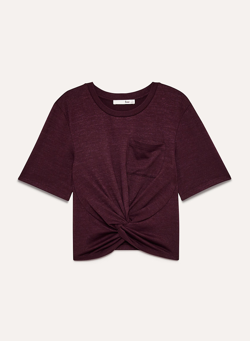 Cropped Tee available in a zillion colors.