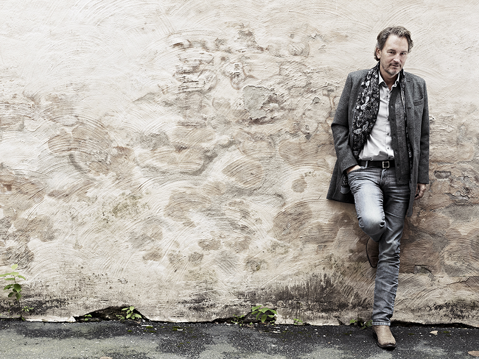Singer Tomas Ledin for the magazine Femina