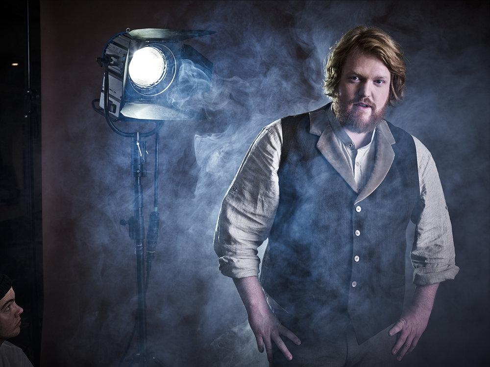 Singer Martin Almgren for Universal Music