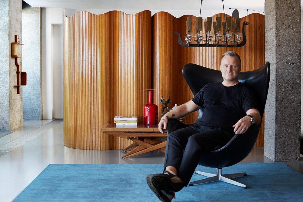 Ola Johansson founder of Äng Studios