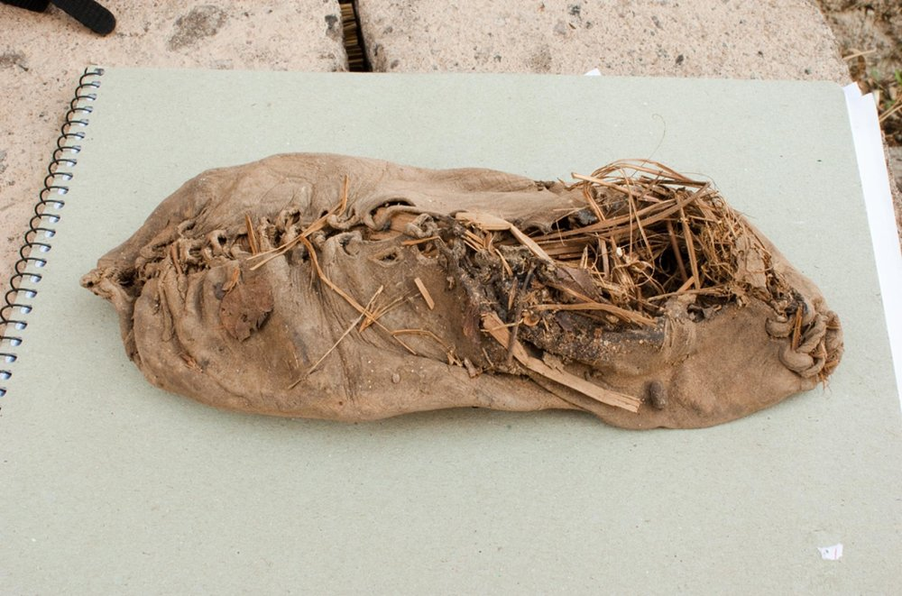 The oldest shoe found is 5000 years old