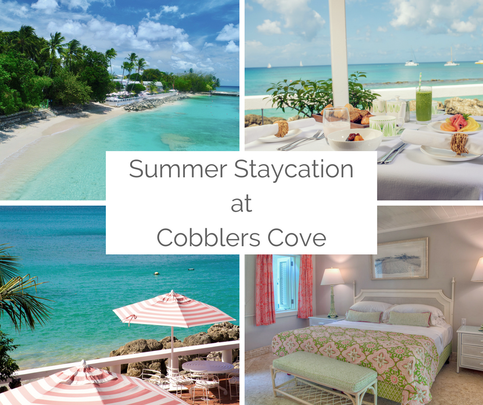A summer staycation is a great way to unwind. You can enjoy this lovely getaway in one of our Garden View Suites which include breakfast, afternoon tea, a 3-course dinner from our Re-discover menu and complimentary water sports. Choose between paddle board/kayaking/turtle swim/boat ride daily. All for USD $250 per night (BDS $500.00).  This offer is only available to residents of Barbados and CARICOM nationals and ends 31st August 2018.  To reserve your Staycation e-mail our reservations team at reservations@cobblerscove.com or call us at + 246-422-2291.