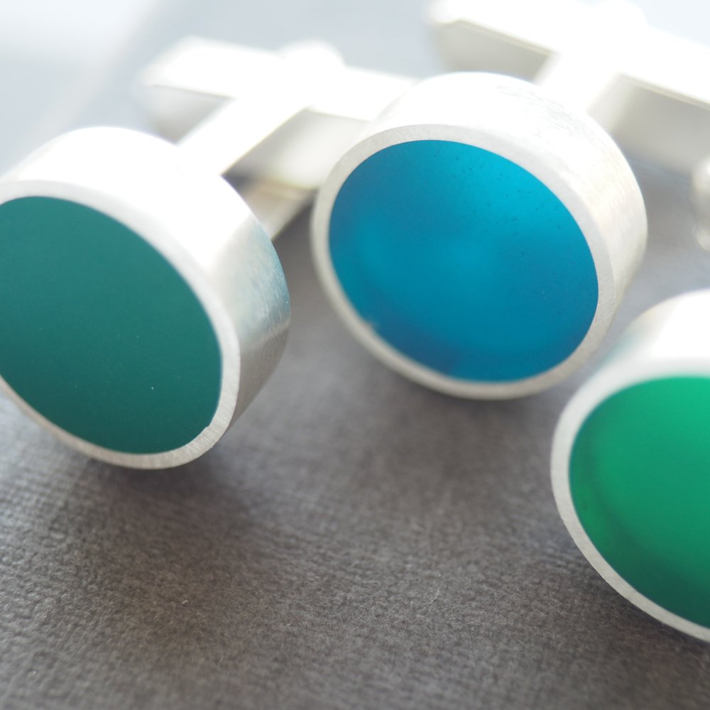 'Colour Cufflinks'
