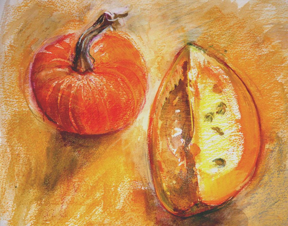 'Gourd and Pumpkin'