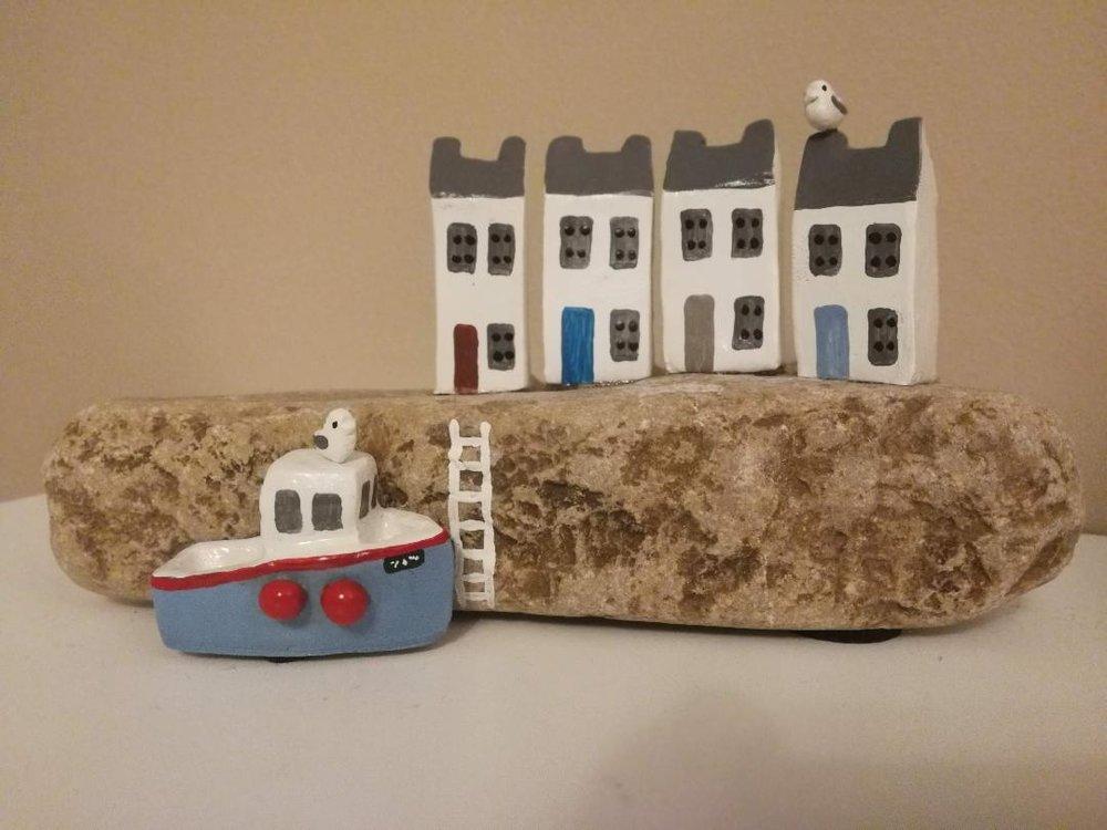'Harbour Scene''